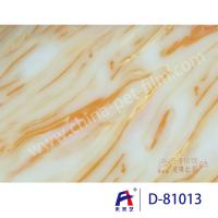 Buy cheap weilaiyi Marble PVC  Coating  Film  0.12-0.18mm thickness PVC Decorative Film product