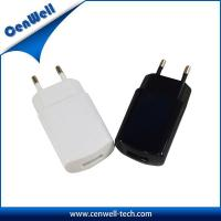 Buy cheap green yellow red colors 5v1a eu wall charger product