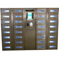 Buy cheap Stainless Steel Vending Locker With LED Lights And Transparent Doors Remote from wholesalers