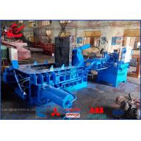 China Automatic Baler Metal Press Machine , High Capacity Metal Scrap Baler Machine on sale