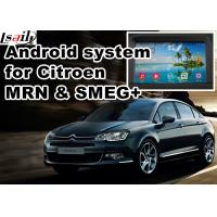 Buy cheap Android GPS navigation box video interface for Citroen SMEG+ MRN Car GPS Navigation System product