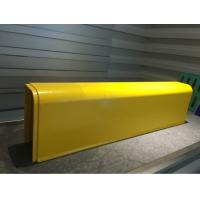Buy cheap Super strength Fiberglass Profiles Curbstone Yellow used in Auto / Motor Cyle Exhaust Canister Cover from wholesalers
