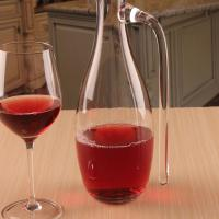 China Hand Blown Red Wine Crystal Glass Decanter for Vivid Aerating With Handle on sale