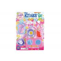 Buy cheap 12 Pcs Kids Mini Pretend Play Food Set With , Role Play Kitchen Accessories product