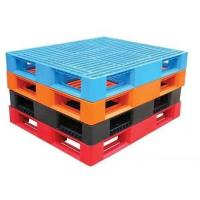 Buy cheap 1 Ton 4 Way Euro Multi Colored Plastic Pallets For Warehouse And Racking System product