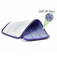 Buy cheap Deep Clean Microfiber Wet Mop Pad, Scrubber Mop Pad with Stiff PP Fiber, Ultra from wholesalers