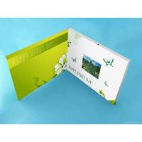 Buy cheap Wedding Custom lcd video greeting card 7 Inch 16.7M brochure with video screen product