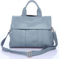 Buy cheap Urban lady leather blue handbag,fashion real leather bag M035 product