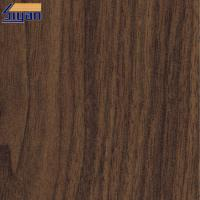 China Good Ductility PVC Wood Film  / PVC Sheet Decorative Film For Furniture on sale