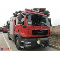 Buy cheap 100km/h 4x2 Drive 6 Cylinder Diesel Engine Aerial Ladder Fire Truck product
