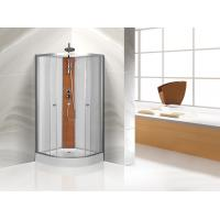 Buy cheap Custom Quadrant Sliding Door Shower Cubicles , Curved Shower Glass Enclosure product