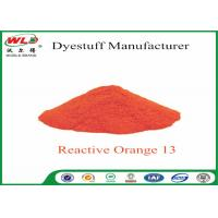 Buy cheap ISO Fabric Color Dye Reactive Brill Orange K-7R C I Reactive Orange 13 product