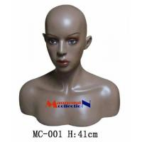 Buy cheap Female Realistic Mannequin Head & Bust from wholesalers