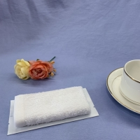 Buy cheap 100% Cotton Antiseptic Airline Wet Towel product