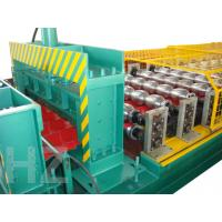 Buy cheap Chain Drive Roof Panel Roll Forming Machine With Touch Screen PLC Frequency Control System product
