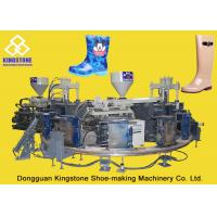 Buy cheap Rain / Water Boot / Gumboot Dual Injection Molding Machine Rotary Type product