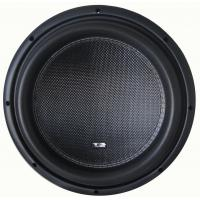 Buy cheap Deep bass High performance Competition Car Subwoofers , RMS 2000W 12 Inch  Subwoofer product