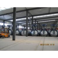 Buy cheap Concrete Autoclave with hydraulic pressure door-opening and safety interlock product