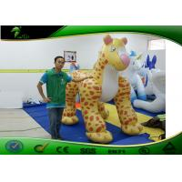 Buy cheap 3M Cartoon Inflatable Leopard Costumes / Inflatable Advertising Products product