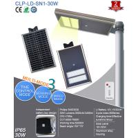 Buy cheap 12V Solar Powered Led Street Lights Integrated 30W For Factory , School from wholesalers
