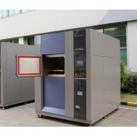 China CE Marked High and Low Temperature 3-Zone Thermal Shock Testing Chamber on sale