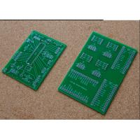 Buy cheap 1 Layer Single Sided FR4 PCB Board Green Solder Mask For TV Mother Board product