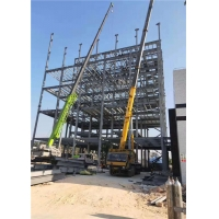 Buy cheap Multi Storey Construction Steel Frame Structure product