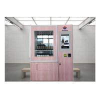 Buy cheap Remote Stock Monitor Wine Dispenser Beer Vending Machine With Advertising from wholesalers