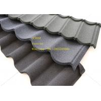 Buy cheap Green Back Stone Coated Metal Roof Tile 2.08 Sheets Tiles Per Sqm , Galvalume Steel Sheet product