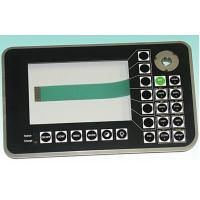 China Waterproof 3m Adhesive PCB Membrane Switch Keypad For Electronic Reading Machine on sale