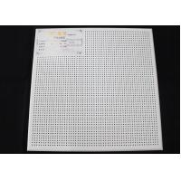 Buy cheap Perforated Suspended Acoustic Ceiling Tiles product