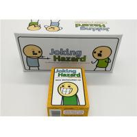 Buy cheap English Version Joking Hazard Card Games For Grown Ups Easy Operation product