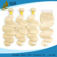 Buy cheap Natural Body Wave Ladys Hair Extensions from wholesalers