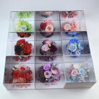 China Wholesale preserved flowers mirror gift box birthday gift for girl friend on sale