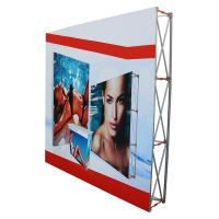Buy cheap Outdoor pop up banners wall display / trade show booth banners product