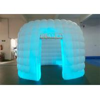 Buy cheap Portable 1 Door White Inflatable Photo Booth / Trade Show Booth For Event product