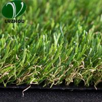 Buy cheap Indoor Outdoor Grass 25mm Pile Heght 9000 Dtex Anti Ultraviolet 1mm Width product