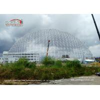 Buy cheap 50m Diameter Geodesic Dome Tents With Doors & Ventilation For Exhibition from wholesalers