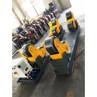 Buy cheap Pipe Welding Rotator 20Ton Turning Rollers PU Schneider Driver Guarranted quality from wholesalers