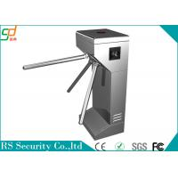 Buy cheap Stainless Steel Tripod Turnstile Gate Mechanism, Access Control Turnstiles System product
