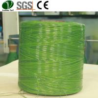 Buy cheap Flat Grass Yarn Eco Friendly Monofilament Fiber Material PP Bag Packing product