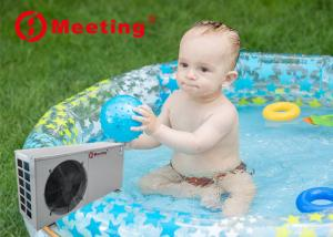 Buy cheap Meeting R32 220V 380V 50Hz SPA fast heating systems inflatable swimming pool mini compact heat pump CE product