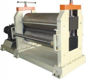 Wooden Grain / Stucco Embosser Metal Embossing Machine Automatic Cutting