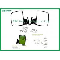 Electric Golf Cart Side Mirrors Golf Buggy Accessories 1 Year Warranty