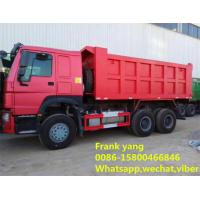 Buy cheap 2 Axle Used Dump Trucks , 375 Hp Diesel Dump Truck With New Battery product