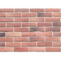 Buy cheap 3DWN05 Decorative Interior Thin Brick Panels / Wall  Building Materials With Turned Color 210*55 product
