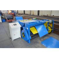Buy cheap Roof Panel Metal Plate Steel Sheet Cutting Machine 1000mm - 1250mm , 3 Row Rollers product