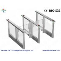 Buy cheap Electrical Security Flap Gate Turnstile Entrance With Ir Sensors product