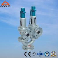 China A43h  China Steel / Stainless   Steel  Twin Spring / Double Port Full Lift Flanged Type Safety Valve on sale