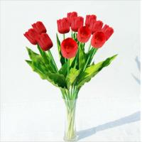 Buy cheap Wholesale Artificial Flowers Red Tulips product